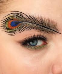 Image result for peacock eyebrow