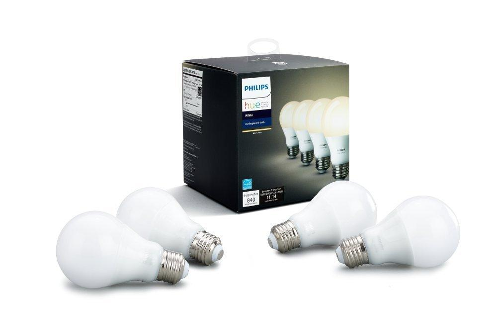 PHILIPS HUE WHITE A19 4-PACK 60W