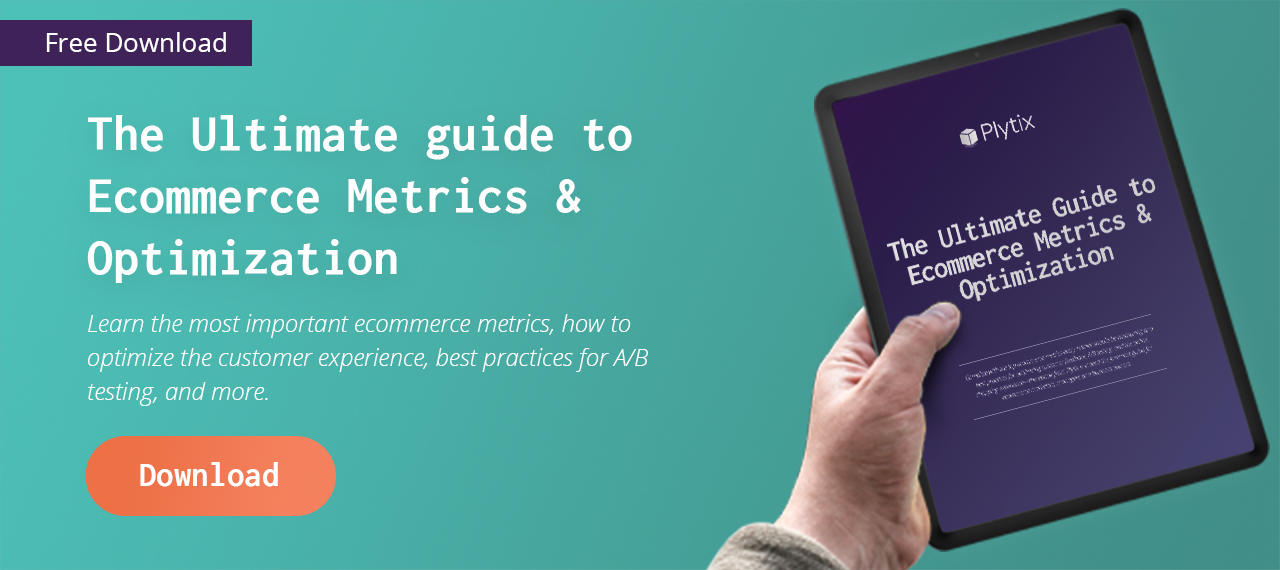 Ultimate Guide to Ecommerce Metrics & Optimization Ebook