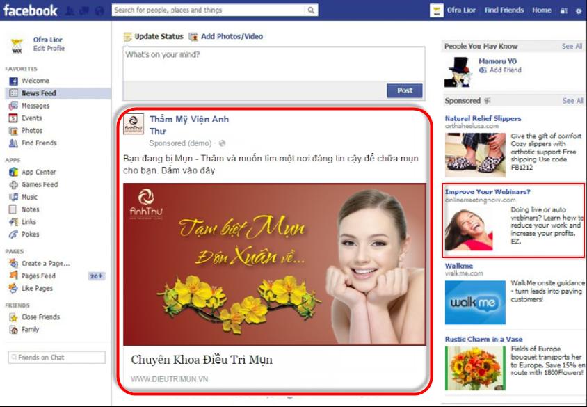 Dịch vụ quảng cáo trên facebook vô cùng linh hoạt
