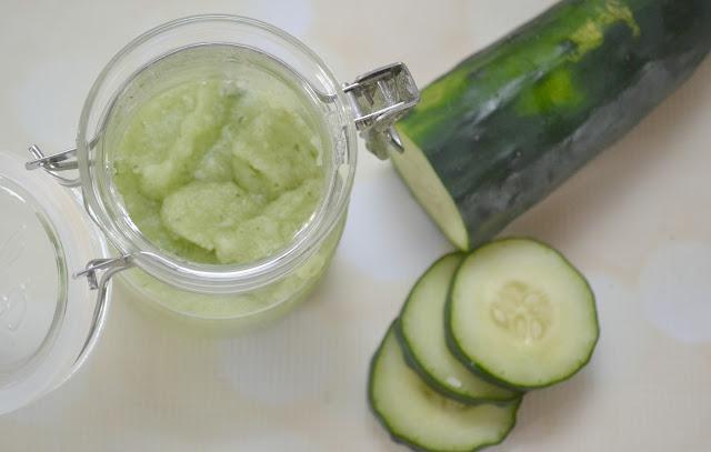 Cucumber Mint Sugar Scrub, DIY Sugar Scrubs, make your own sugar scrub, sugar scrub for summer, summertime sugar scrub, cucumber sugar scrub, Cucumber mint salt scrub, make your own salt scrub