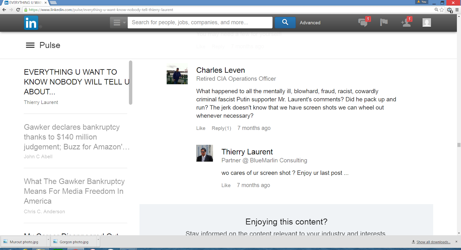 E:\LINKEDIN\Leven's comment re Laurent final.PNG