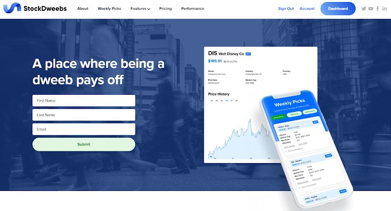 StockDweebs Review: Stock Picks