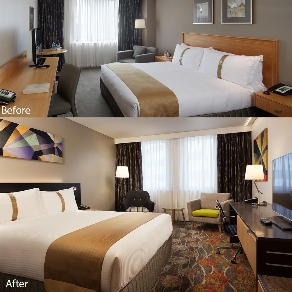 Hotel Refurbishment | Perth Hotel | Holiday Inn Perth City Centre