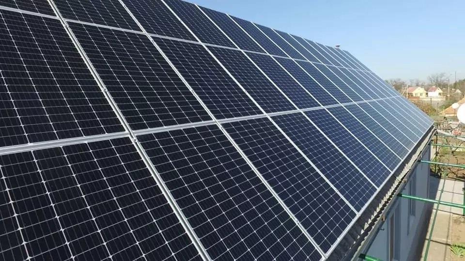 солнечная станция в Украине