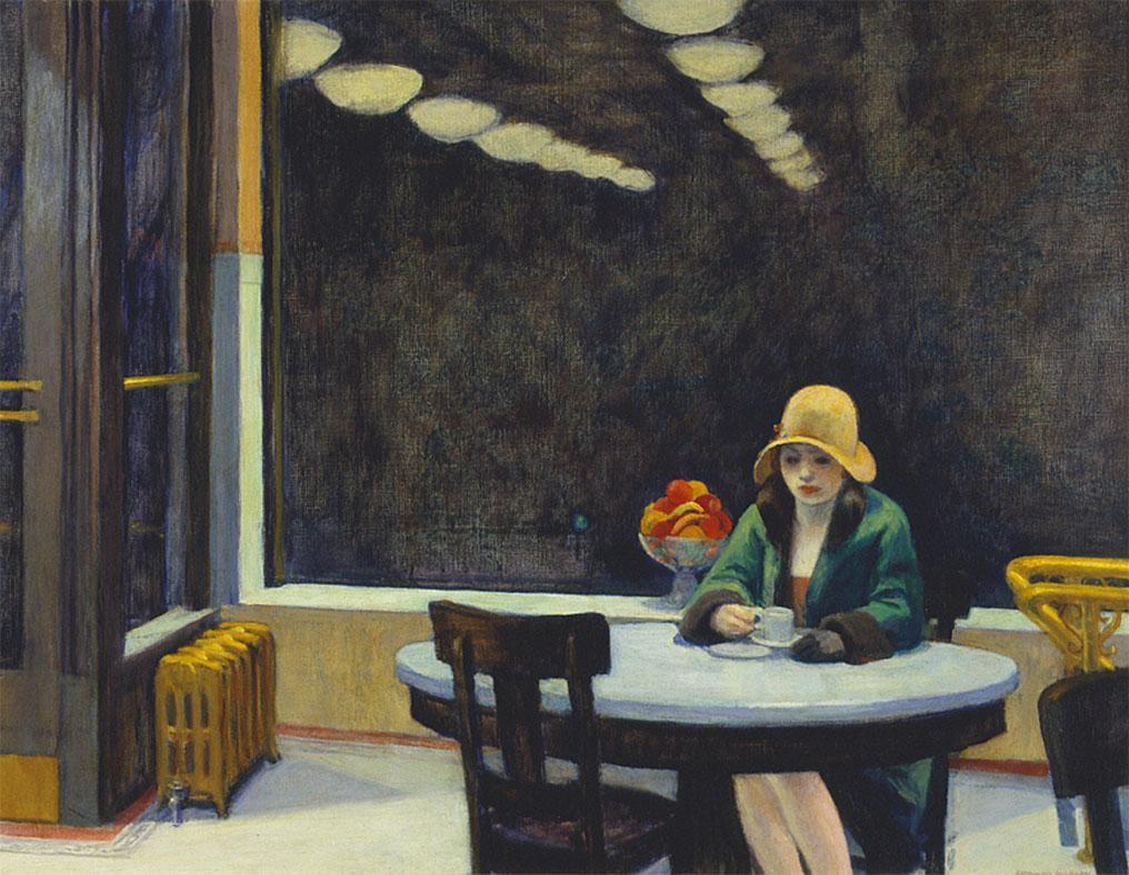Automat - Tavola calda - quadro - Hopper