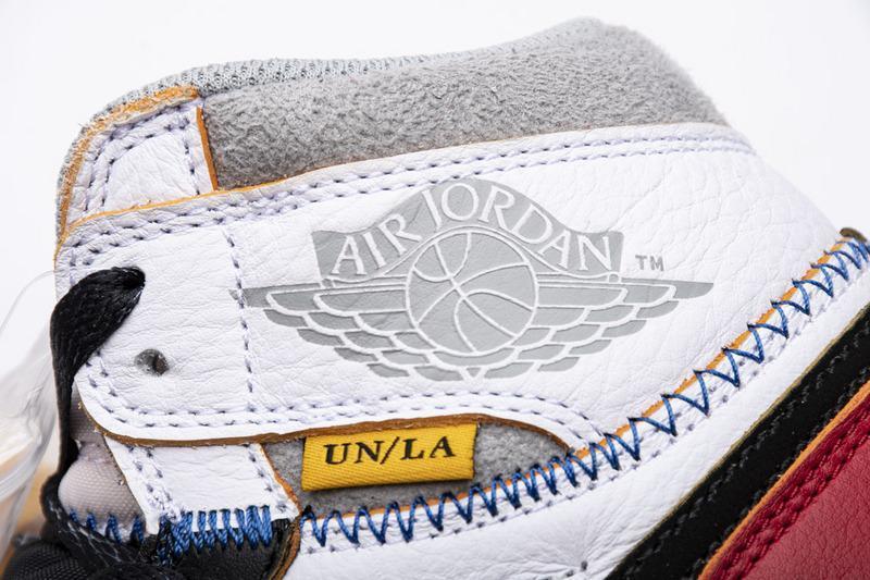 """Union X Air Jordan 1 OG High Retro Black Toe"" ดีเทลแน่น สวยสุด ๆ ไปเลย 03"