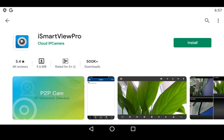 iSmartViewPro app on PC