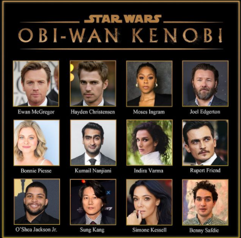 Obi-Wan Kenobi Announces Star-studded Cast