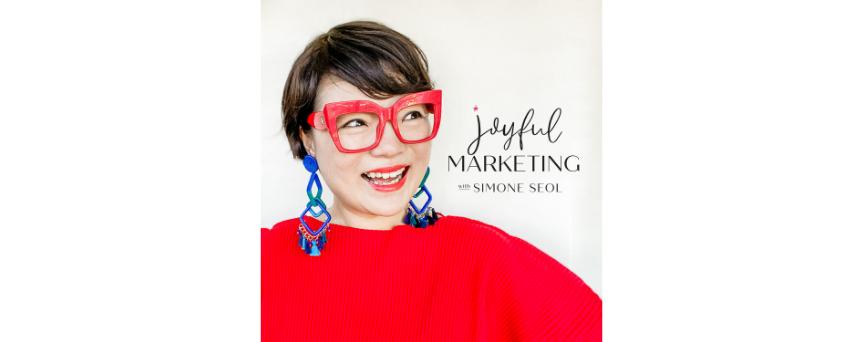 Joyful Marketing podcasts logo