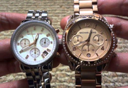 phân biệt đồng hồ Michael Kors chính hãng