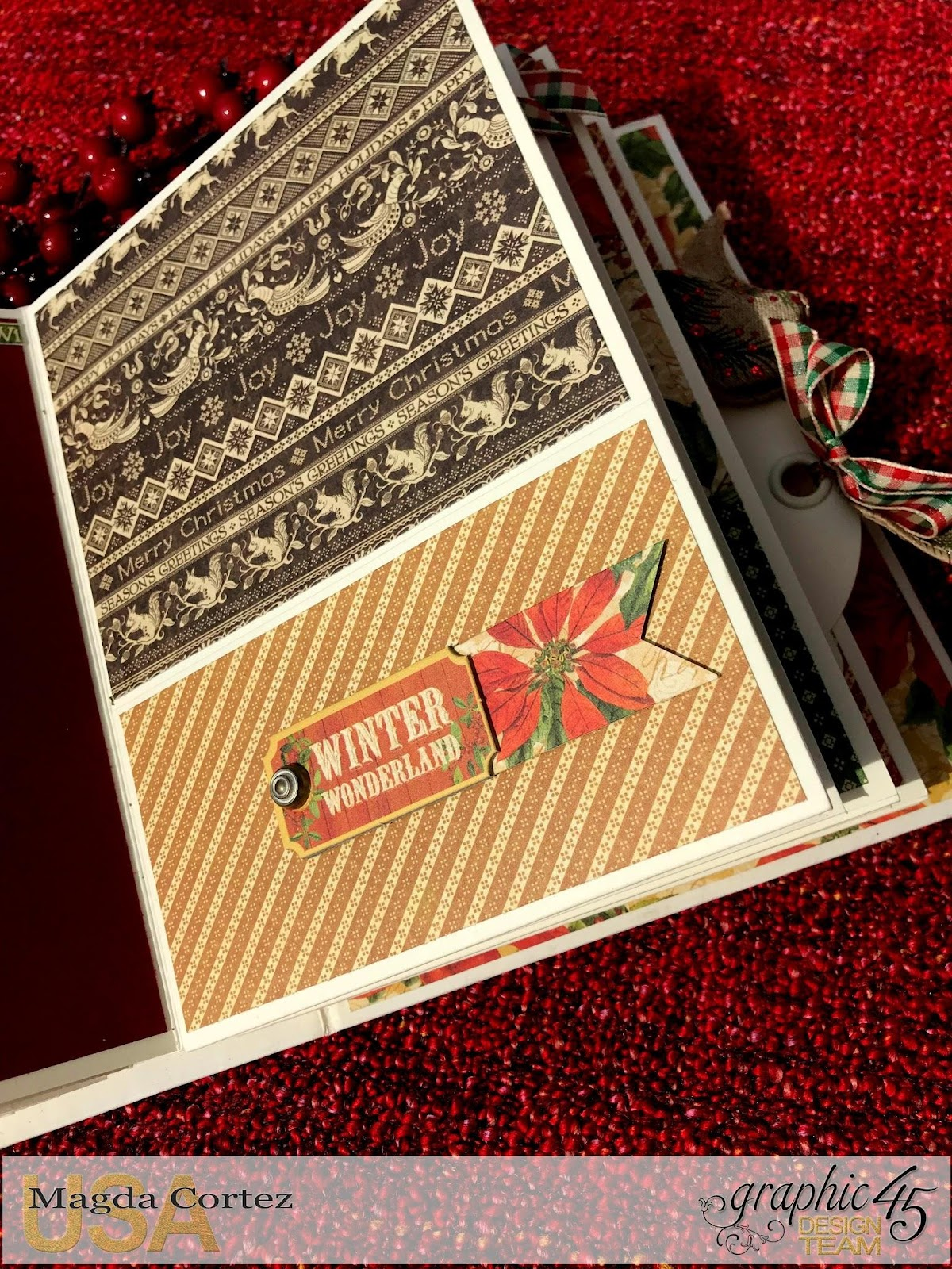Believe Mini Album,Winter Wonderland By Magda Cortez, Product by Graphic 45, Photo 08 of 11 .jpg