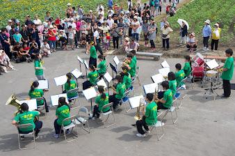 北竜中学校吹奏楽部演奏:力強く