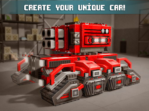 Blocky Cars - Online Shooting Game- screenshot thumbnail