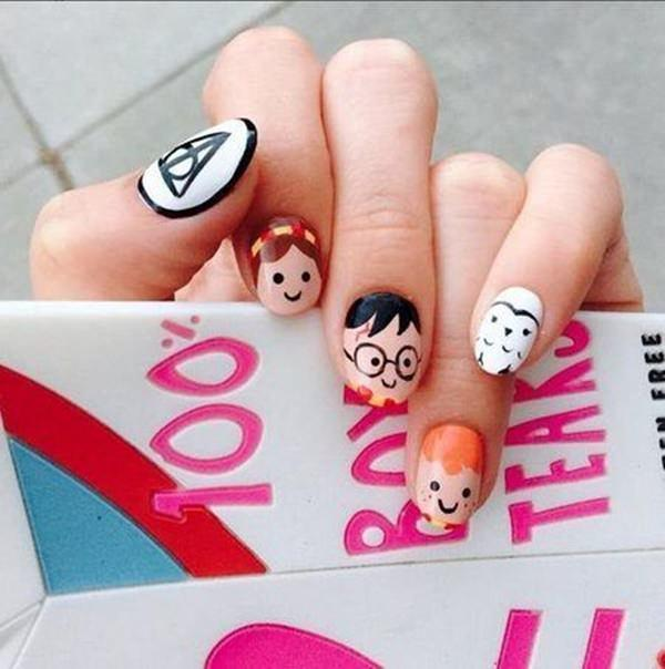cute nail designs creem (74)
