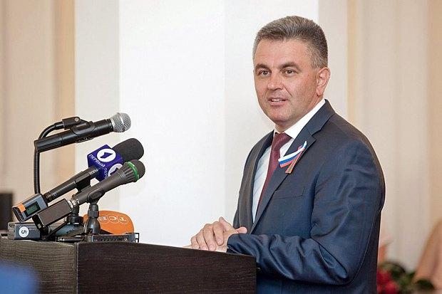 Лидер непризнанной республики Вадим Красносельский