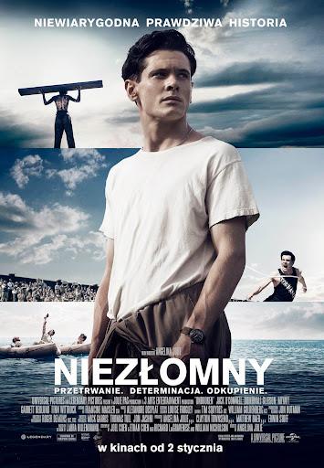 Polski plakat filmu 'Niezłomny'