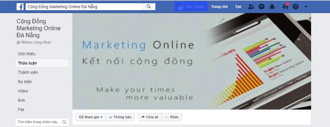 Cộng đồng marketing online Đà Nẵng