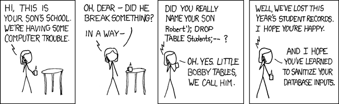 xkcd comic - computer trouble