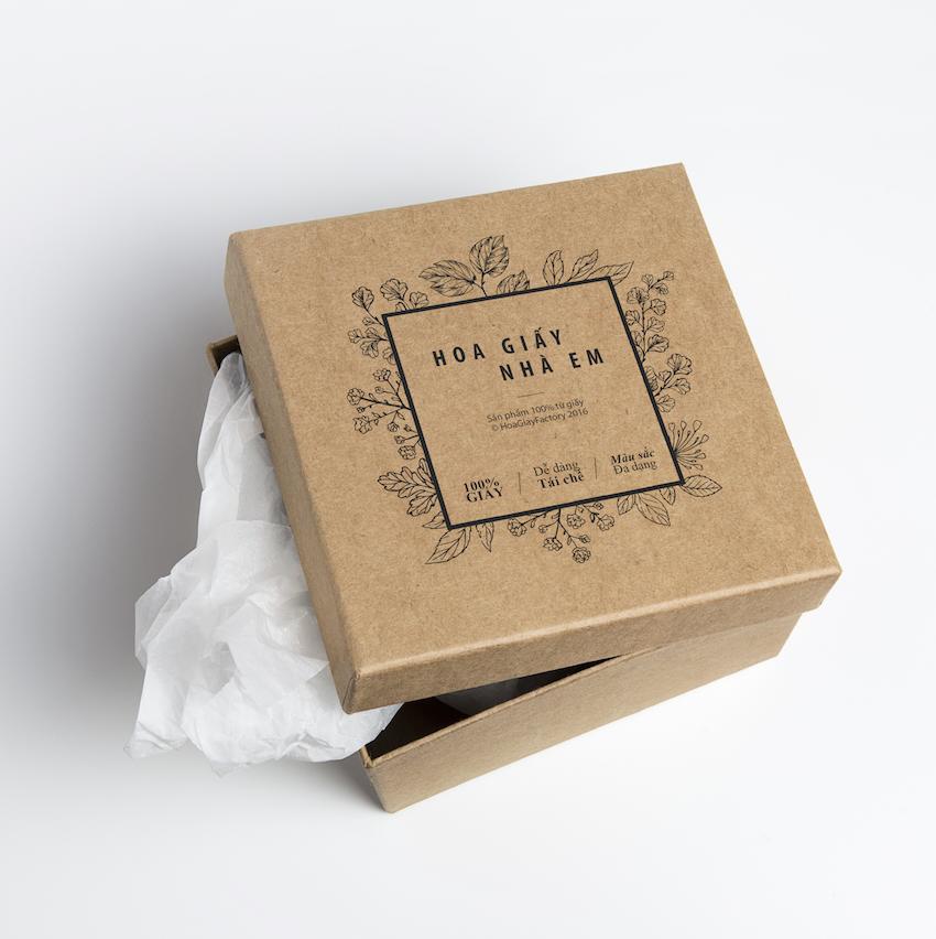 hộp giấy thân thiện môi trường