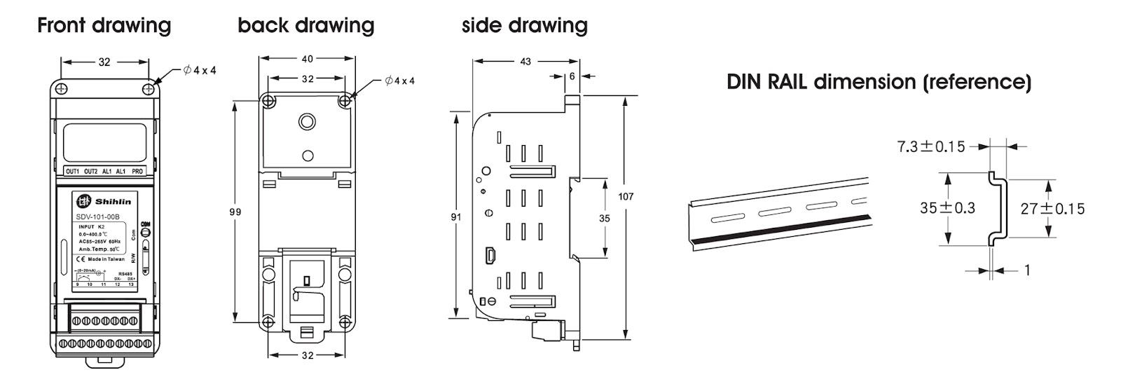 Bộ chuyển đổi tín hiệu R, K, Pt100 sang 4-20mA