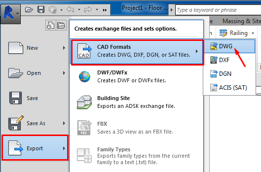 Export to DWG - Revit Workflow - Modelical