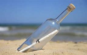 Resultado de imagem para message in a bottle