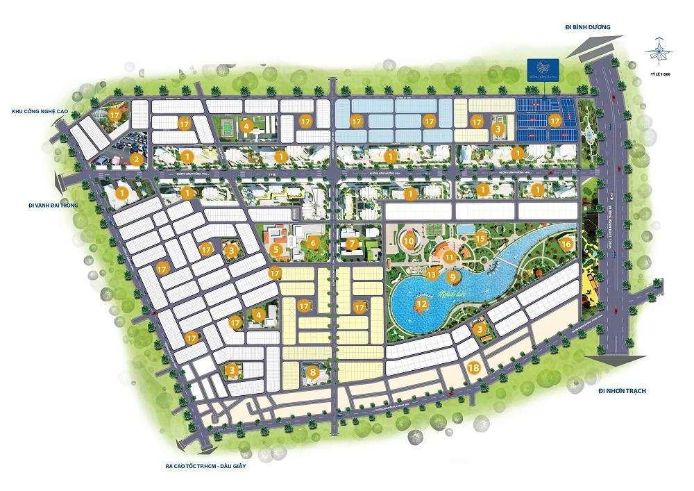 Bảng phát thảo dự án Đông Tăng Long