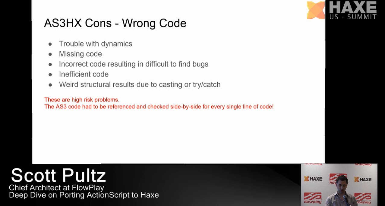 AS3HX Cons - Wrong code