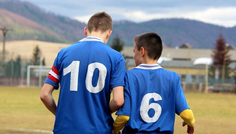 Football, Captain, Children, Pupils, Older Pupils
