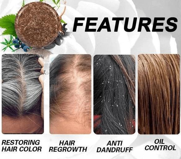 Hair Darkening Shampoo features