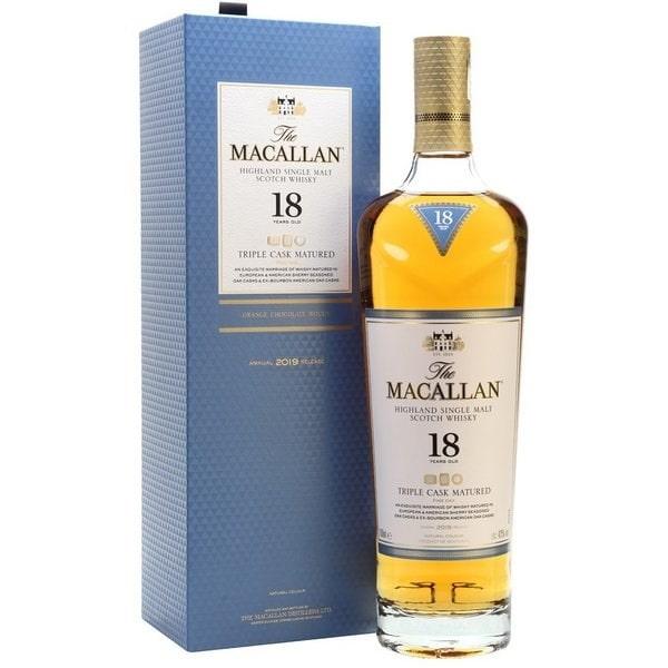Macallan 18 Triple Cask