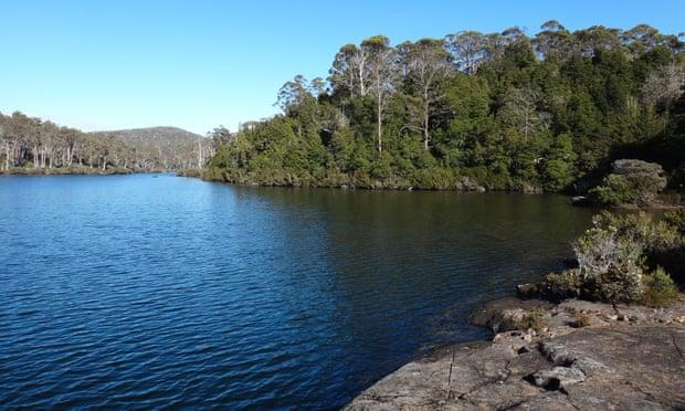 Lake Malbena and Halls Island in the Tasmanian Wilderness World Heritage Area