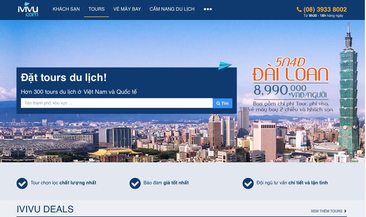 Sử dụng phông chữ và kích cỡ nhất định khi thiết kế website