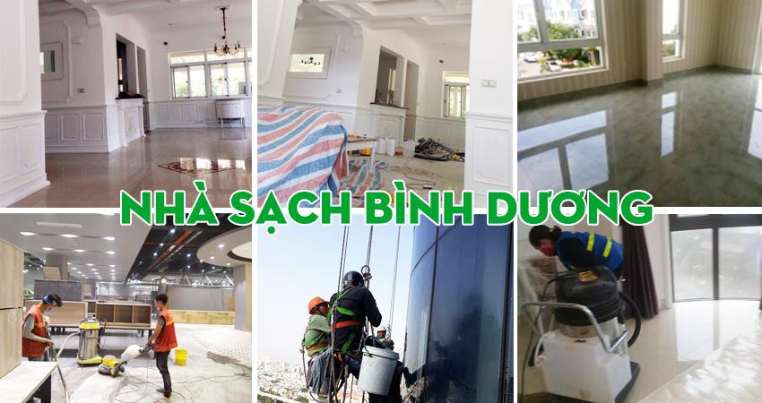 Dịch vụ dọn dẹp vệ sinh nhà ở tại Bình Dương