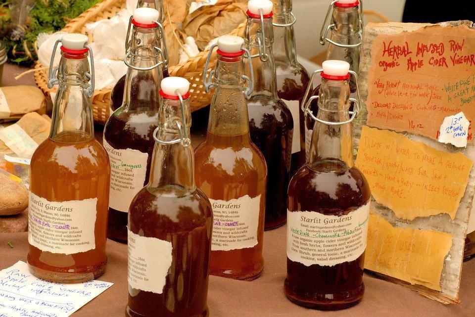 Apple Cider Vinegar, Food, Harvest, Market