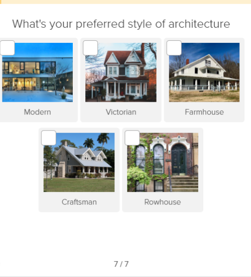 preferred style of architecture question