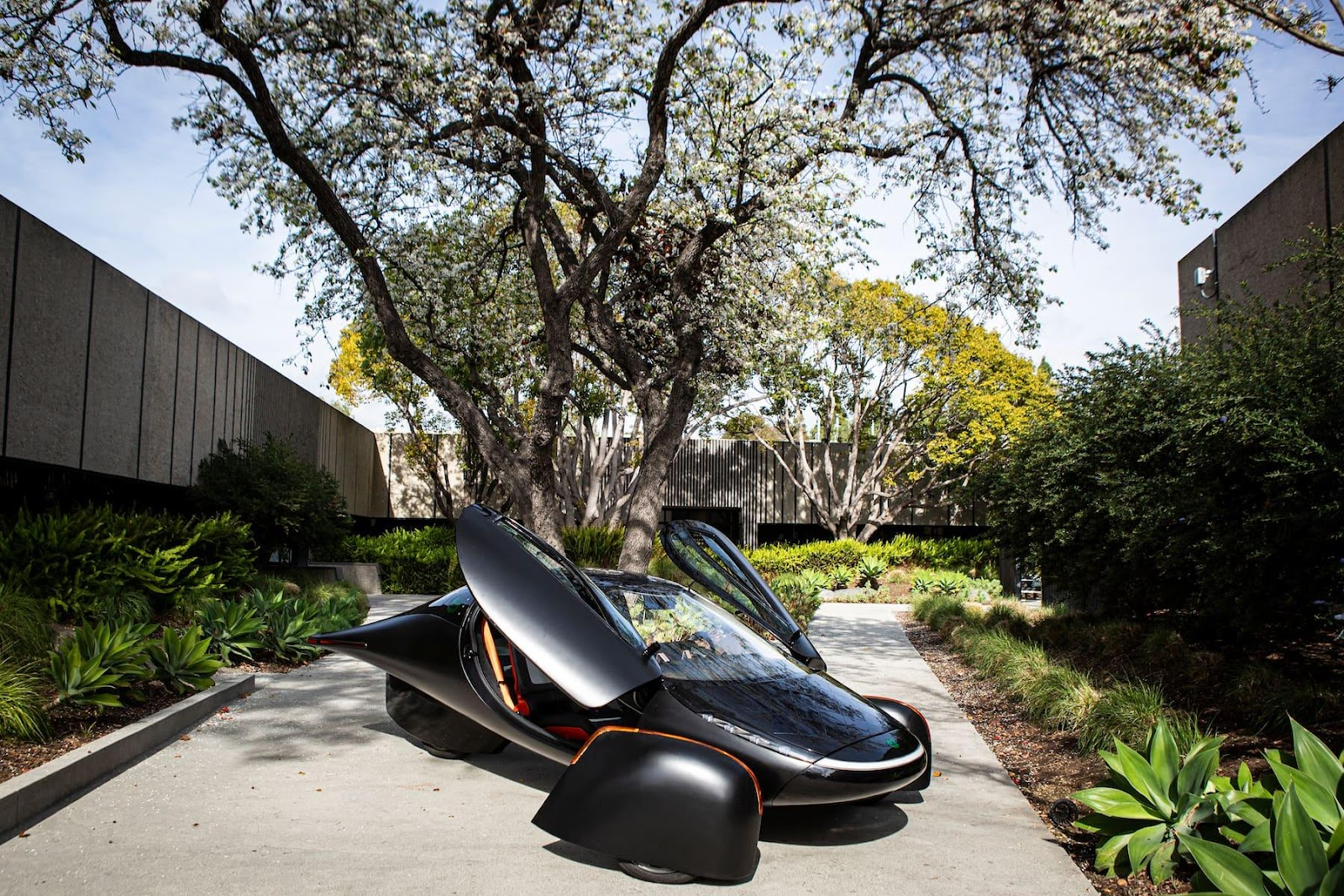 The Aptera can go 150 miles after just 15 minutes at an ordinary charging station. Starting price is $25,900.