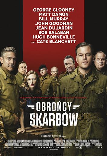 Polski plakat filmu 'Obrońcy Skarbów'