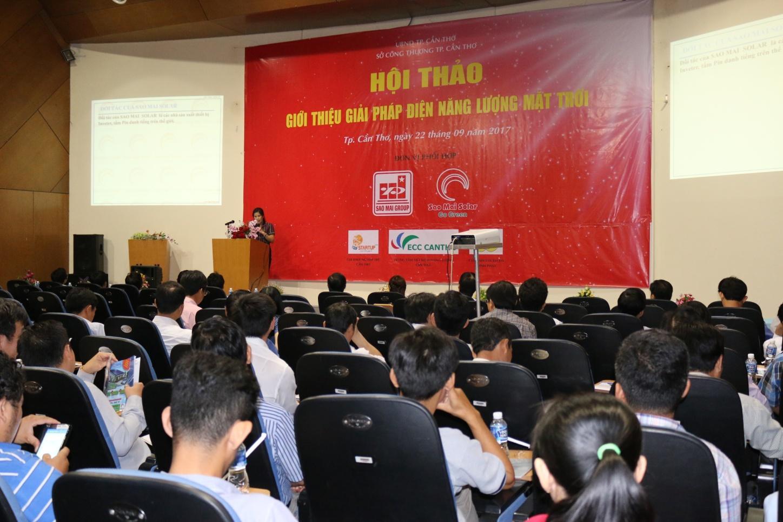 Description: 1. Hội thảo Giới thiệu Giải pháp điện NLMT.JPG