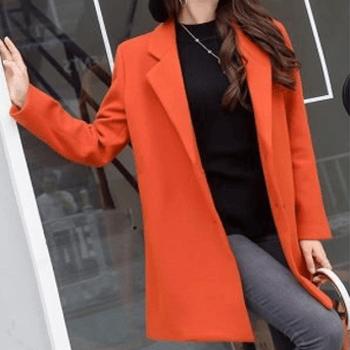 Long woolen jackets
