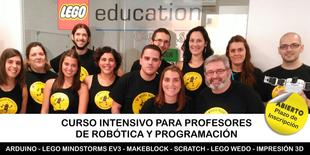 Curso de Robótica y Programación para Profesores