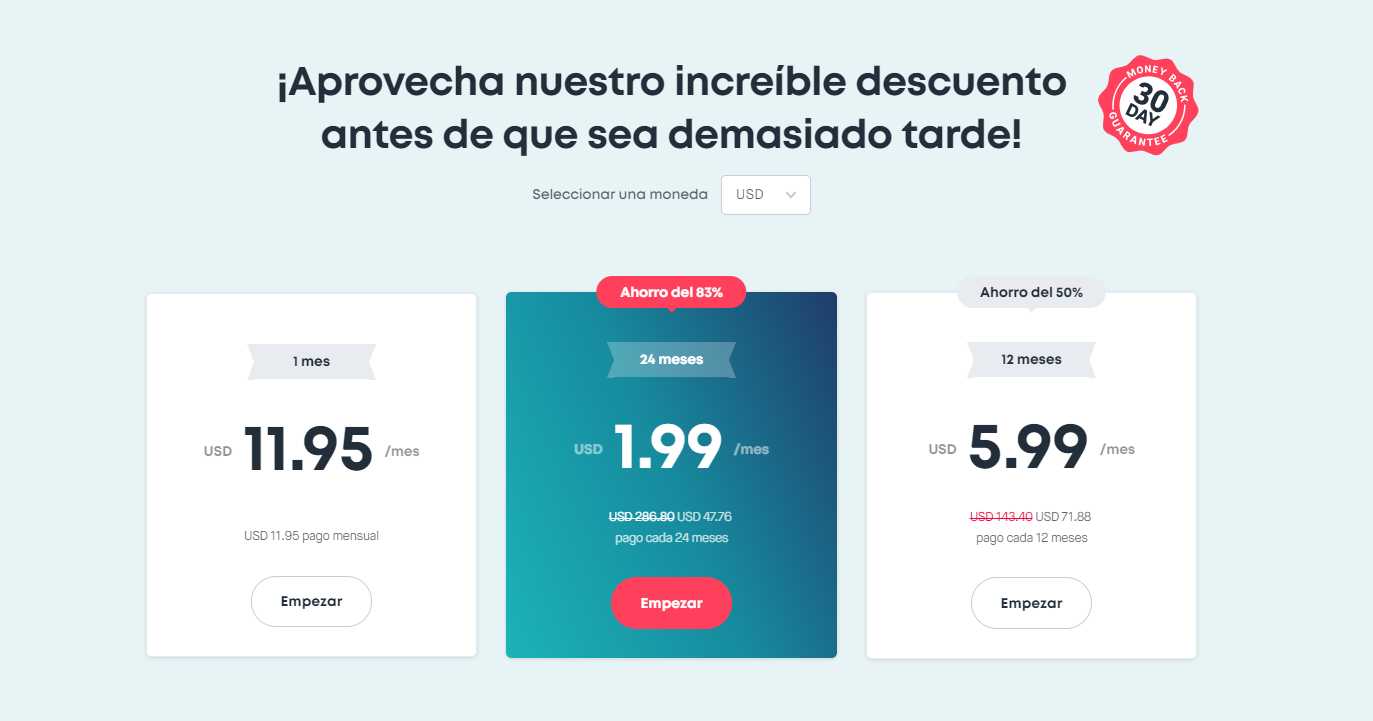SurfShark VPN planes y precios