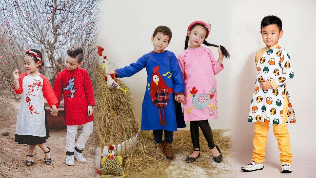 Lựa chọn áo dài đẹp cho bé có phải sự khó khăn của các bà mẹ?