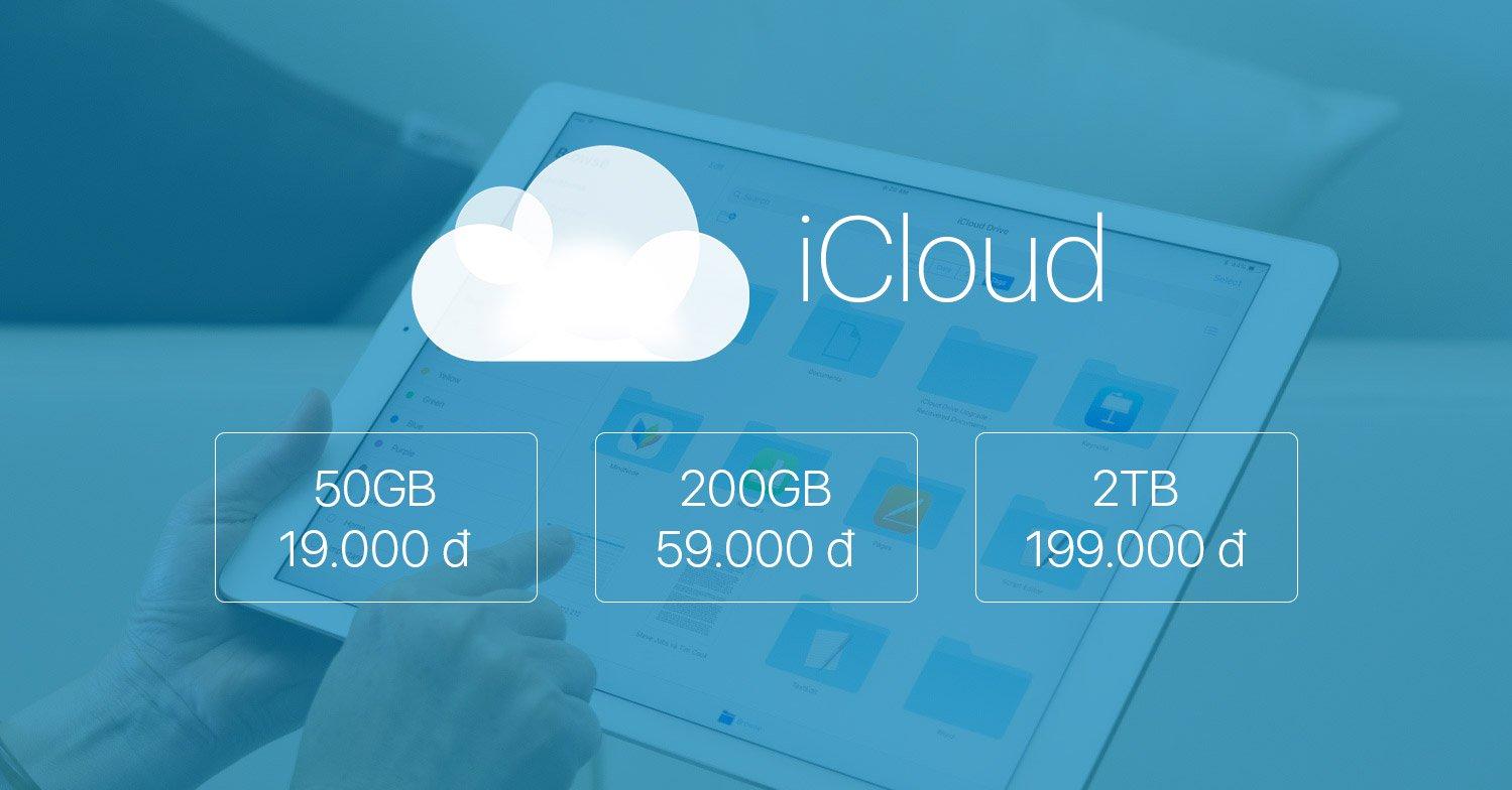 Cách mua dung lượng iCloud đơn giản, thuận tiện