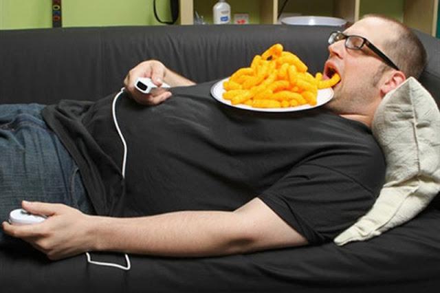 Lười vận động dẫn tới béo phì