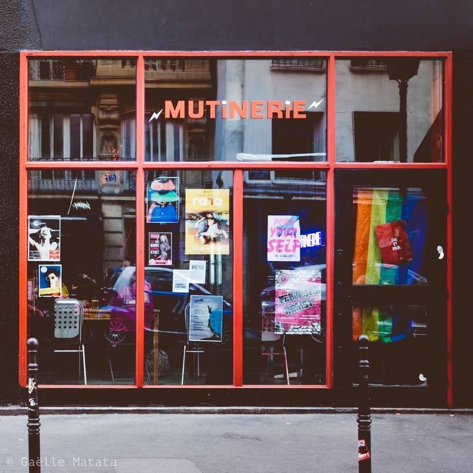 La Mutinerie bar queer trans à Paris pendant le confinement - Photo : Gaëlle Matata