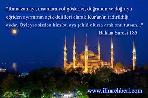 Ramazan Ayı için Öneriler