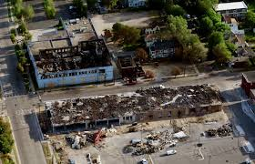 Aerial views of St. Paul, Minneapolis show the extent of destruction from  riots – Twin Cities
