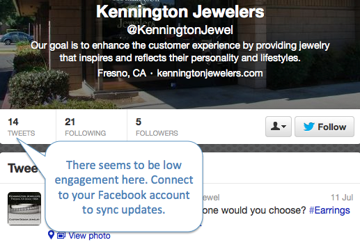 Kennington Jewelers Twitter